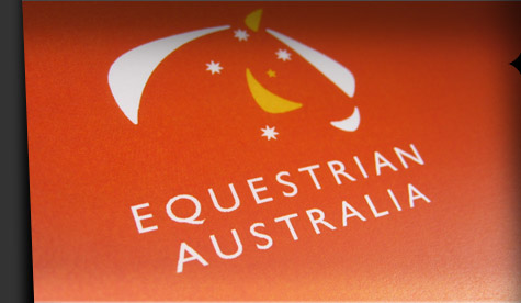 Large rebranding project - the nataional rollout of Equestrian Australia's new visual identity