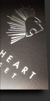 Lionheart's corporate identity close up